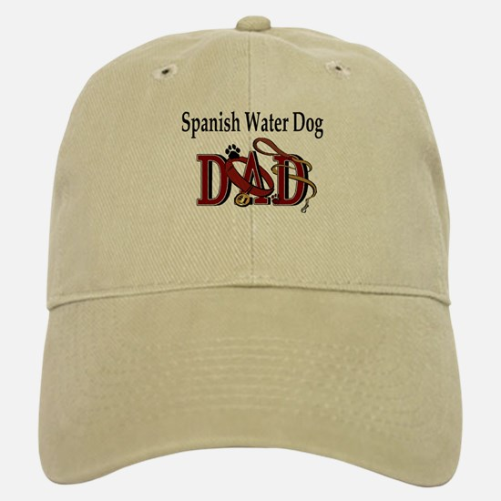 Spanish Water Dog Dad Baseball Baseball Cap