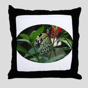 Butterflies/Winged Creatures Throw Pillow