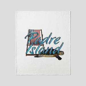 ABH Padre Island Throw Blanket