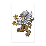 Gryphon Rectangle Sticker
