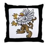 Gryphon Throw Pillow