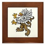 Gryphon Framed Tile