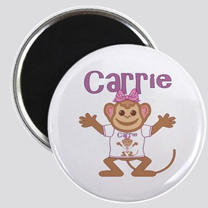Little Monkey Carrie Magnet