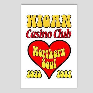 Wigan Casino Club Northern Soul 1973-1981 Postcard