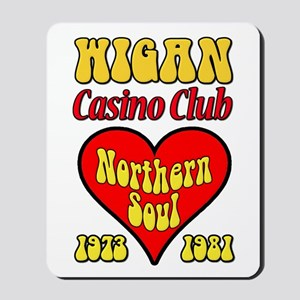 Wigan Casino Club Northern Soul 1973-1981 Mousepad