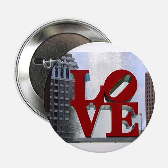 "Love Park 2.25"" Button"