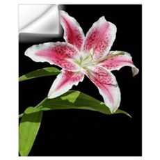 Stargazer Lily Wall Decal
