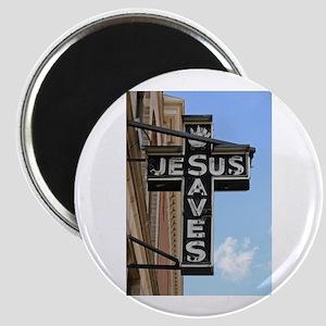Jesus Saves Magnet