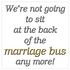 Marriage Bus Poster