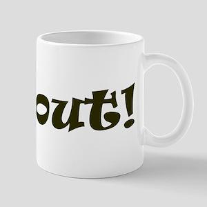 Far Out! Mug
