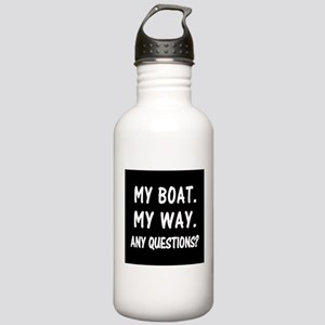 MY BOAT. MY RULES. Stainless Water Bottle 1.0L
