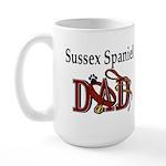 Sussex Spaniel Dad Large Mug