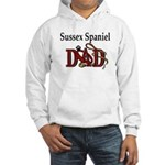Sussex Spaniel Dad Hooded Sweatshirt