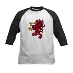 Red Gryphon Kids Baseball Jersey