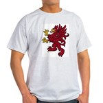 Red Gryphon Ash Grey T-Shirt