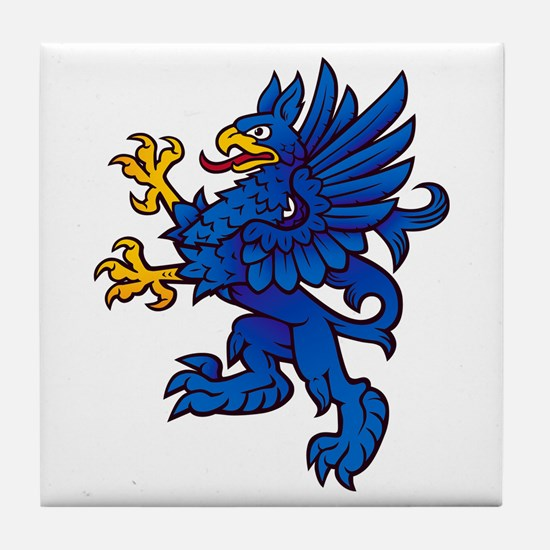 Gryphon Tile Coaster
