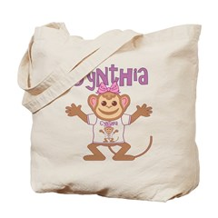 Little Monkey Cynthia Tote Bag