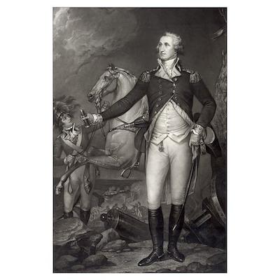 Washington at Trenton Poster