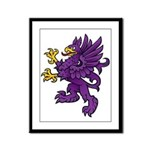 Gryphon Framed Panel Print