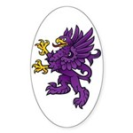 Gryphon Oval Sticker