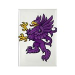 Gryphon Rectangle Magnet