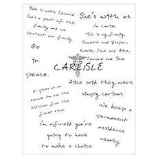 Carlisle Quotes Poster