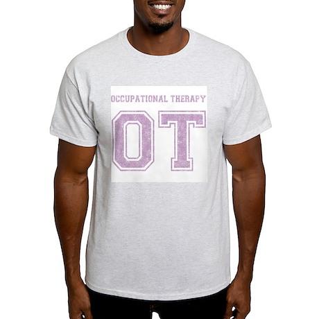 Team OT (purple) - Ash Grey T-Shirt