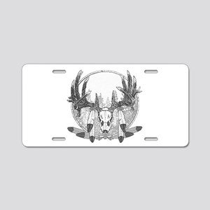Whitetail Euro Mount Aluminum License Plate