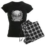 Whitetail Euro Mount Women's Dark Pajamas