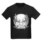 Whitetail Euro Mount Kids Dark T-Shirt