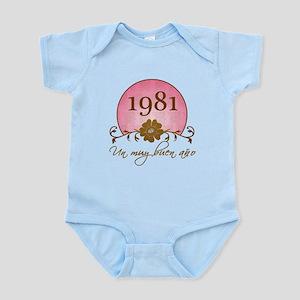 1981 Spanish Year Infant Bodysuit