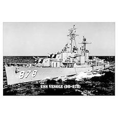 USS VESOLE Poster