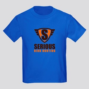 serious_crest_1_and_text-01 T-Shirt