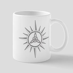 Triquetra Compass Rose Mug
