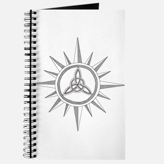 Triquetra Compass Rose Journal