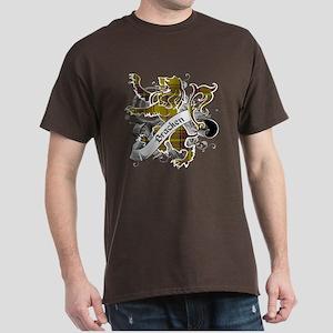 Bracken Tartan Lion Dark T-Shirt