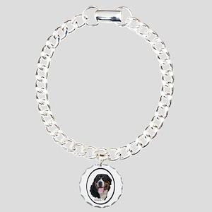Greater Swiss Mtn Dog Charm Bracelet, One Charm