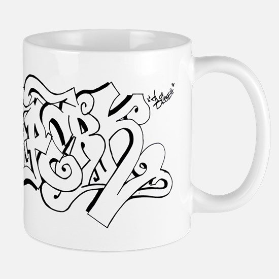 Hang Loose Bubble Graffiti Mug