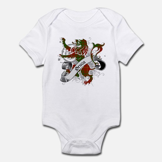 Bruce Tartan Lion Infant Bodysuit