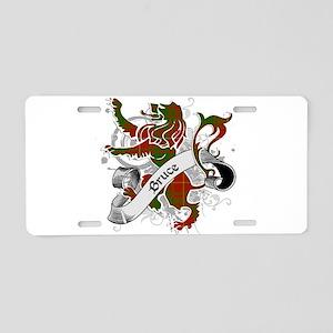 Bruce Tartan Lion Aluminum License Plate