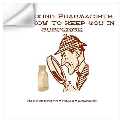 Compound Pharmacists Wall Decal