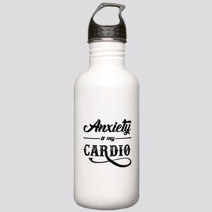 Anxiety Is My Cardio Stainless Water Bottle 1.0L