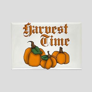 Harvest Time Rectangle Magnet