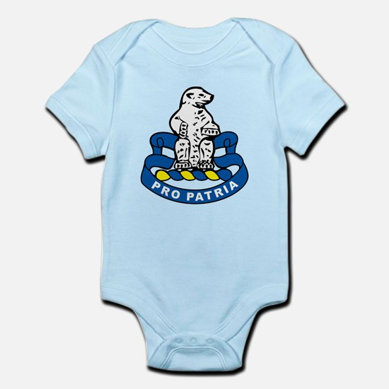 31st Infantry Regiment Infant Bodysuit