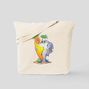 Surf Shark Tote Bag