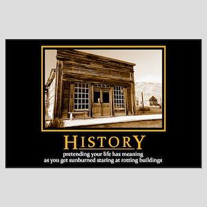 History Demotivational Poster