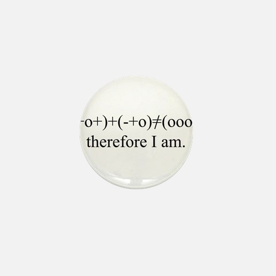 PHYSICS MEETS PHILOSOPHY Mini Button