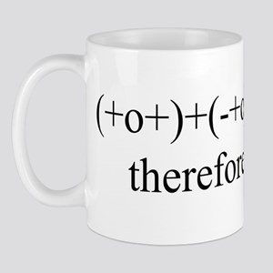 PHYSICS MEETS PHILOSOPHY Mug