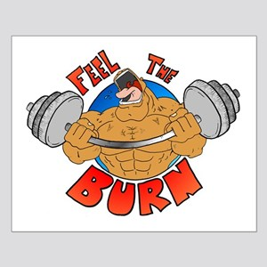 Feel the Burn Gym Small Poster