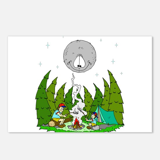 Camping FUN Postcards (Package of 8)
